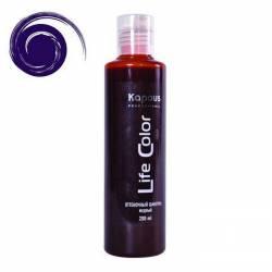 Оттеночный шампунь (фиолетовый) Kapous Professional Life Color Coloring Shampoo 200 ml
