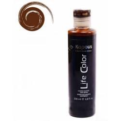 Оттеночный шампунь (коричневый) Kapous Professional Life Color Coloring Shampoo 200 ml