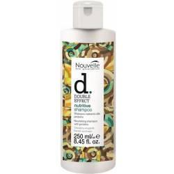 Оживляющий шампунь для волос с кератином Nouvelle Double Effect Nutritive Shampoo 250 ml