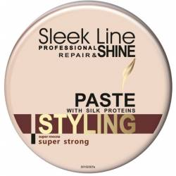Паста для укладки волос Stapiz Sleek Line Styling Paste With Silk 150 ml