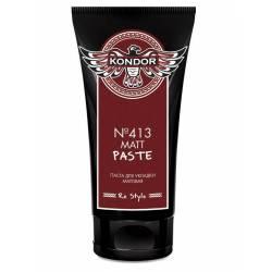 Паста матова для укладання волосся №413 Kondor Matt Paste 50 ml