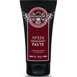 Паста полуматовая для укладки волос №324 Kondor Demi-Matt Paste 50 ml