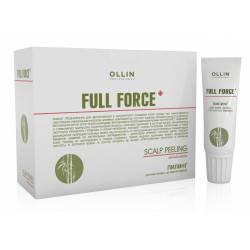 Пилинг для кожи головы с экстрактом бамбука Ollin Professional 10x15 ml