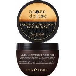 Питательная маска с аргановым маслом De Luxe Argan Noutrition Infusing Mask 250 ml