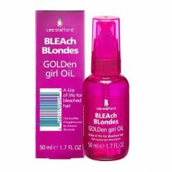 Питательное масло для осветленных волос Lee Stafford Bleach Blondes Golden Girl Oil 50 ml