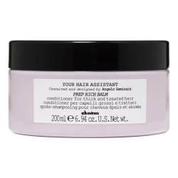Питательный кондиционер для поврежденных волос Davines Your Hair Assistant Prep Rich Balm 200 ml