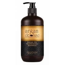 Питательный шампунь с аргановым маслом De Luxe Argan Nourishing Shampoo 300 ml