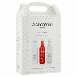 Подарочный набор для ухода за кожей тела и лица Коктейль Трио Космо и Клубника Blancrème Trio Cocktail