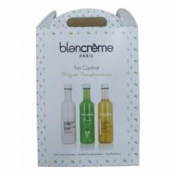 Подарочный набор для ухода за кожей тела и лица Мохито Blancrème Trio Cocktail Mojito Pamplemousse