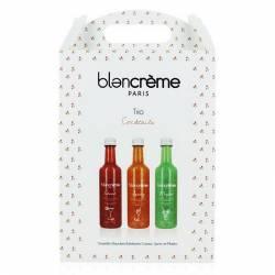 Подарочный набор для ухода за кожей тела и лица Трио Коктейль Blancrème Trio Cocktails