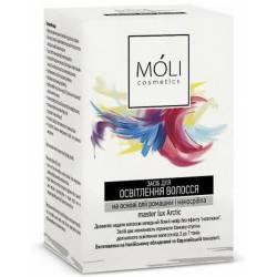Пудра для осветления волос до 7 тонов Moli Cosmetics Master Lux Arctic Powder 500 g