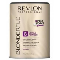 Пудра для освітлення волосся до 8 тонів REVLON BLONDERFUL 750 g