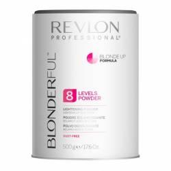 Пудра для освітлення волосся до 8 тонів REVLON BLONDERFUL BLONDE UP 500 g
