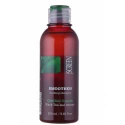 Разглаживающий шампунь для волос Screen Smoothen Sleeking Shampoo 250 ml