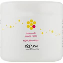 Реконструирующая крем-маска для волос с пчелиным маточным молочком Kaaral Royal Jelly Cream, 500 ml