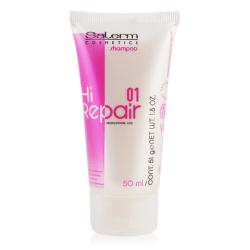 Salerm Hi-Repair шампунь для восстановления структуры волос 50 ml