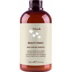 Шампунь-молочко для сухих и поврежденных волос Nook Beauty Family Milk Sublime Dry & Stressed Hair 500 ml