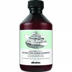 Шампунь-скраб детоксицирующий Davines Natural Tech Detoxifying Shampoo-Scrab 250 ml