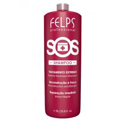 Шампунь Felps SOS Reconstruction Capilar Shampoo для восстановления волос 1000 ml