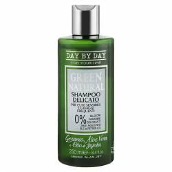 Шампунь деликатный для чувствительной кожи головы и частого применения Alan Jey Green Natural Delicate Shampoo 250 ml