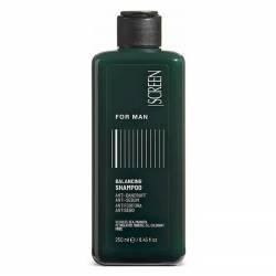 Шампунь для мужчин балансирующий против перхоти и себореи Screen For Man Balancing Shampoo 250 ml