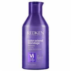 Шампунь для нейтрализации желтизны светлых волос Redken Color Extend Blondage Shampoo 300 ml