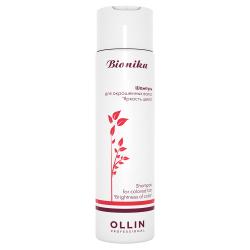 Шампунь для окрашенных волос Яркость Цвета Ollin Professional Bionika 250 ml