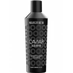 Шампунь для ослабленных волос Selective Caviar Sublime Ultimate Luxury Shampoo 250 ml
