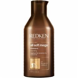 Шампунь для питания очень сухих волос Redken All Soft Mega Nourishing Shampoo For Severely Dry Hair 300 ml