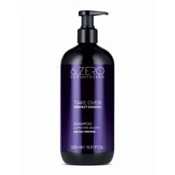 Шампунь для разглаживания непослушных волос 6. Zero Seipuntozero Take Over Perfect Smooth Shampoo 500 ml