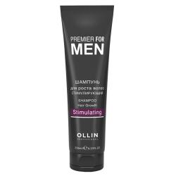 Шампунь для росту волосся стимулюючий Ollin Professional Shampoo Hair Growth Stimulating 250 ml