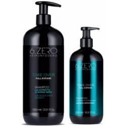 Шампунь для тонких волос 6. Zero Seipuntozero Take Over Full Expand Shampoo 500 ml