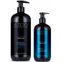 Шампунь для вьющихся волос 6. Zero Seipuntozero Take Over Full Define Curl Shampoo 500 ml