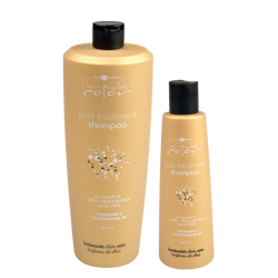 Шампунь стабилизирующий с экстрактом шелка и алоэ вера Hair Company Post Treatment Shampoo 250 ml