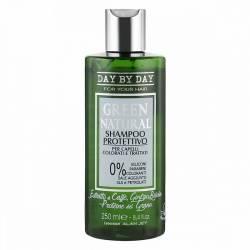 Шампунь Защита цвета для окрашенных и поврежденных волос Alan Jey Green Natural Shampoo Protettivo 250 ml
