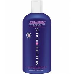 Шампунь женский против выпадения и истончения тонких волос Mediceuticals Advanced Hair Restoration Technology Women Folligen Shampoo 250 ml