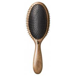 Щетка для ухода за волосами и кожей головы  темное дерево HH Simonsen Wonder Brush Dark Wood