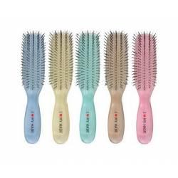 Щeткa для вoлoc 9 рядов МИНИ I Love My Hair MINI 1801