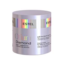 Шелковая маска для гладкости и блеска волос Estel OTIUM DIAMOND 300 ml