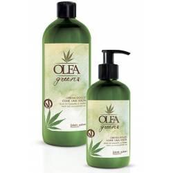Смягчающий крем для волос с маслом конопли и ежевики Dott. Solari Olea Green Crema Dolce Come Una Volta 300 ml