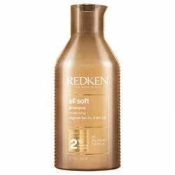 Смягчающий шампунь для сухих и ломких волос Redken All Soft Shampoo 300 ml