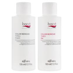 Смывка краски с волос Kaaral Baco Colore Remove 100 ml+100 ml