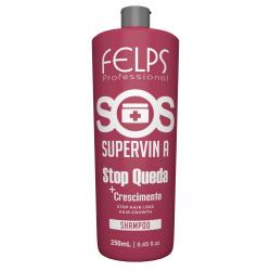 Шампунь против выпадения волос Felps SOS Supervin 250 ml старая упаковка