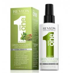 Спрей-маска несмываемая с ароматом зеленого чая REVLON UNIQONE ALL IN ONE 150 ml