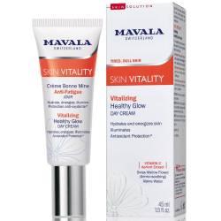 Стимулирующий дневной крем для сияния кожи лица Mavala Vitality Vitalizing Healthy Glow Cream 45 ml