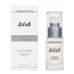Сыворотка Абсолютная Уверенность для сокращения мимических морщин на лице Christina Wish Absolute Confidence 30 ml