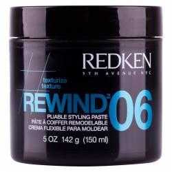 Текстурирующая паста для стайлинга волос Redken Texurize Rewind 06 Pliable Styling Paste 150 ml