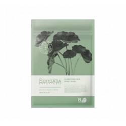 Тканевая маска для лица Очищающая Центелла (8 штук в упаковке) Sensatia Botanicals Clarifying Cica Sheet Mask 150 ml