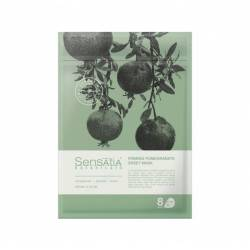 Тканевая маска для лица Укрепляющий Гранат (8 штук в упаковке) Sensatia Botanicals Firming Pomegranate Sheet Mask 150 ml