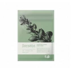 Тканевая маска для лица Увлажняющая Аргана (8 штук в упаковке) Sensatia Botanicals Hydrating Argan Sheet Mask 150 ml